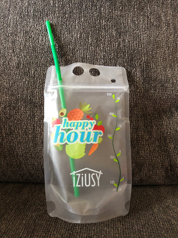 drink pouch, add name