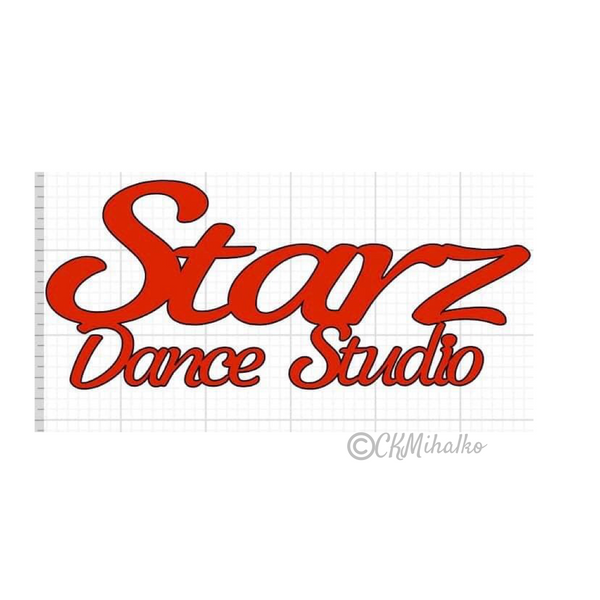 dance studio car decal, window decals, equipment decals