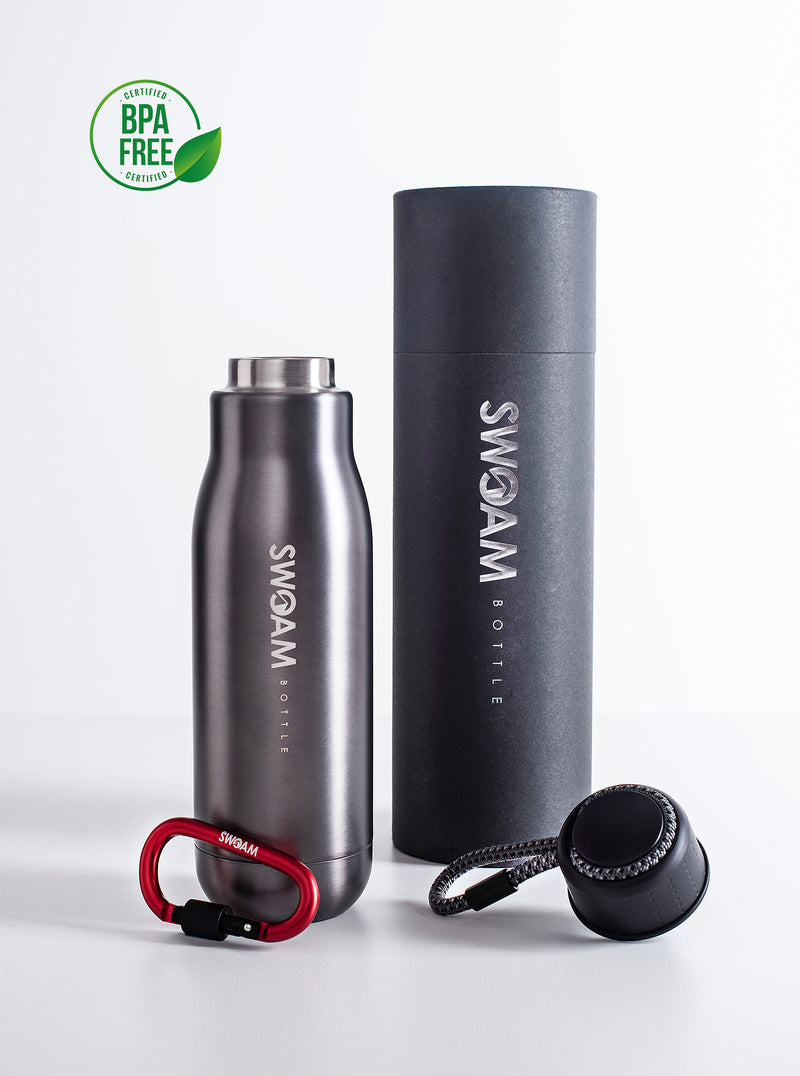 SWOAM Edition Silver 500ml | Die reinste Form des Trinkens