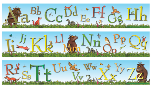 The Gruffalo Alphabet Frieze