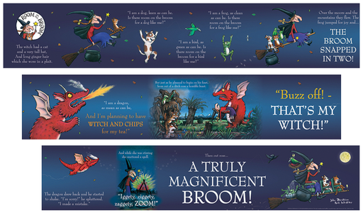 Room on the Broom Frieze