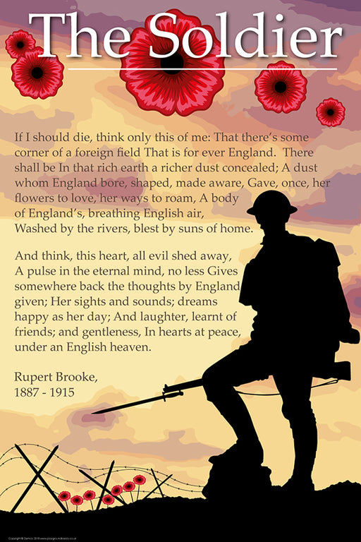War Poem Sign The Soldier