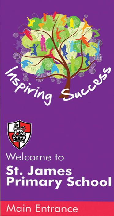 Inspiring Success Welcome Panel Tall