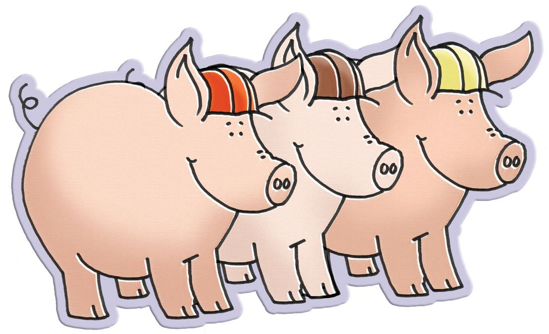 Fairytale Characters -  3 Little Pigs