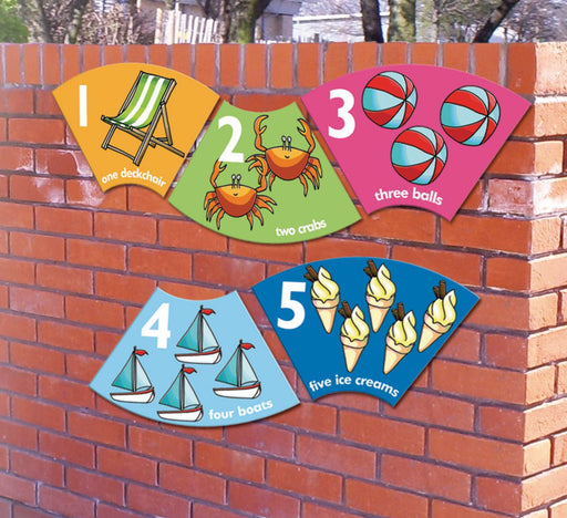 Curvy Number Sign Set of 1-10