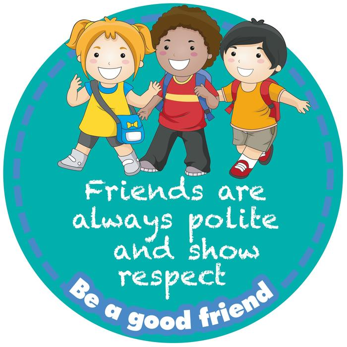 Be a good friend Sign Set of 6