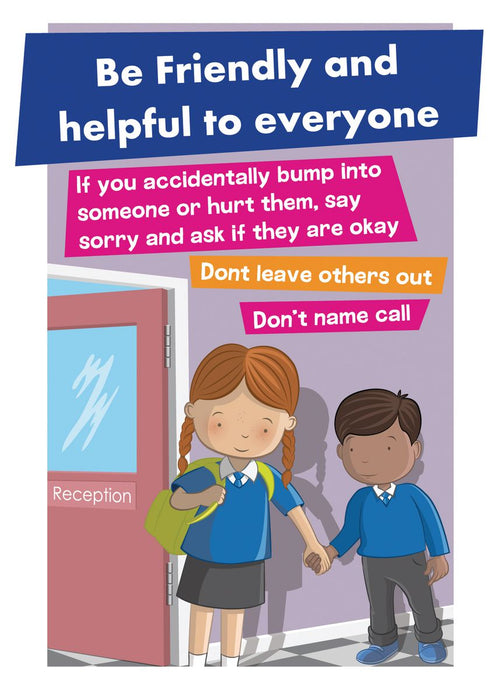 Anti-Bullying Signs Set of 4