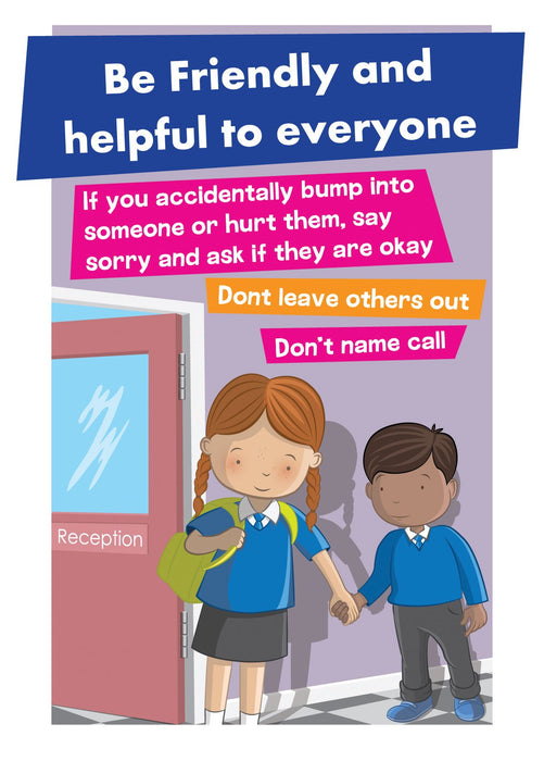 Anti-Bullying Sign Friendly