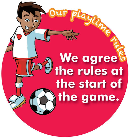 Playtime Rules Sign Agree Rules