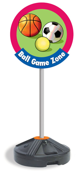 Ball Game Zone Buddy Bus Stop