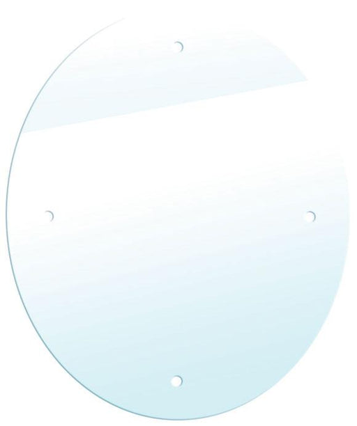 Oval Acrylic Mirror