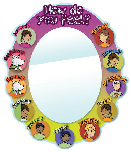Oval Emotional Literacy Mirror