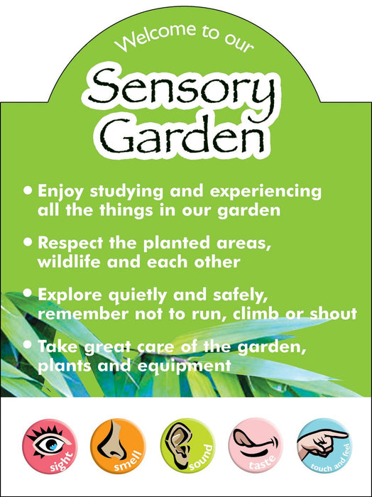 How To Use The Sensory Garden Sign