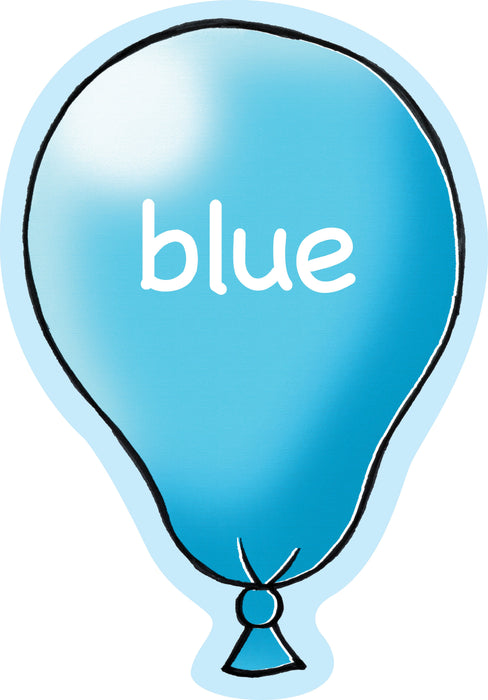 Balloony Colour Signs Blue