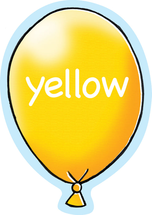 Balloony Colour Sign  Yellow