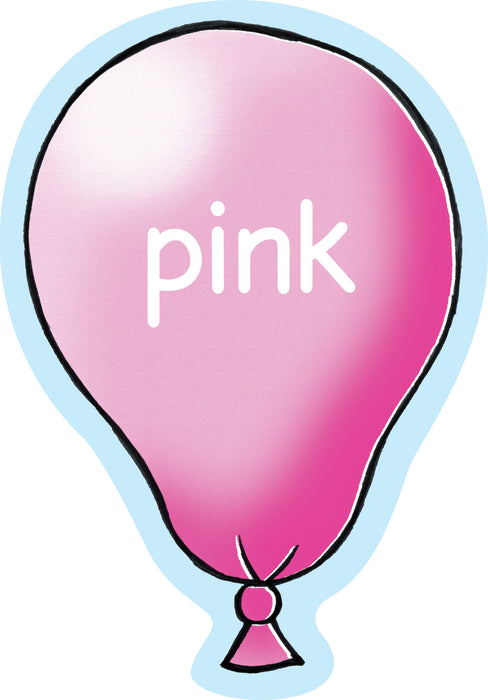 Balloony Colour Sign Pink