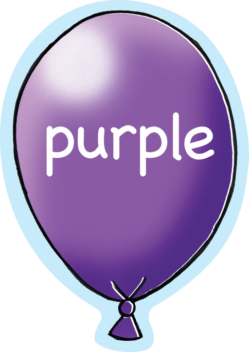 Balloony Colour Signs Purple