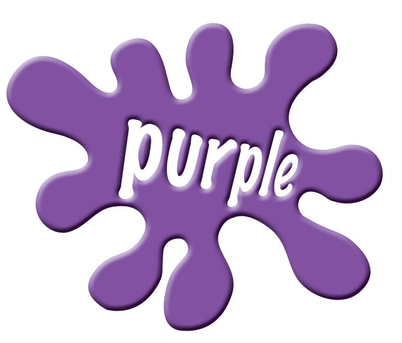 Colour Splatt sign Purple