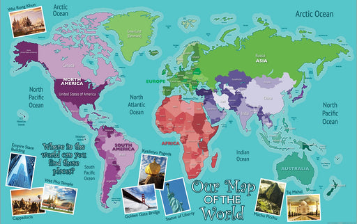 Outdoor World Map