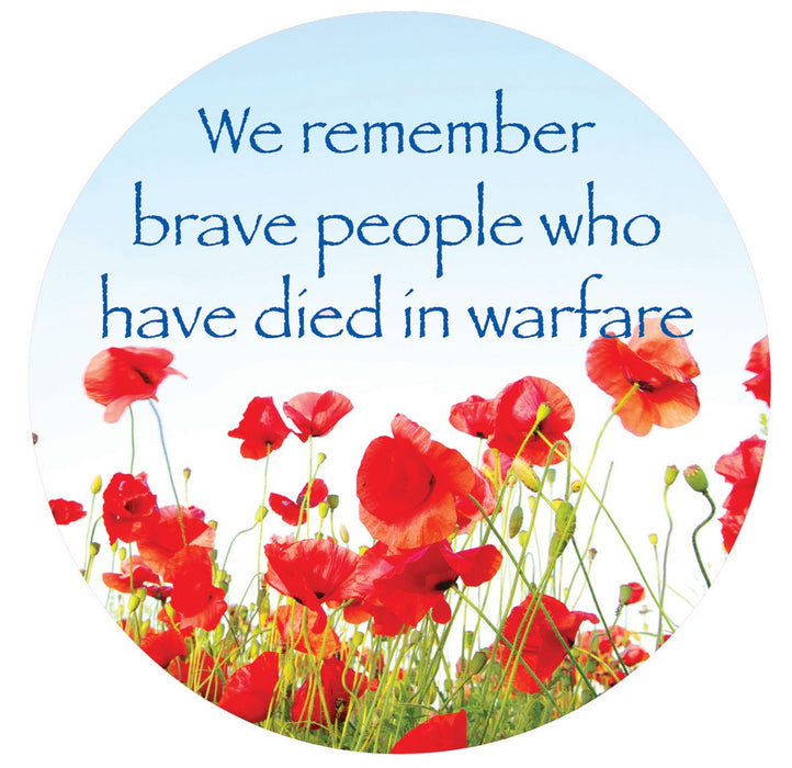 Reflect and Remember Brave people