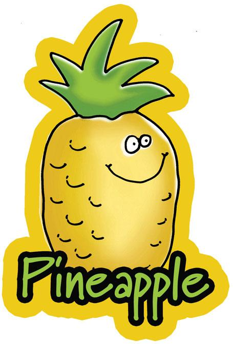 Foody Friends Pineapple