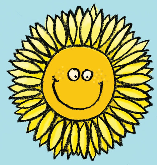 Sunflower Window Cling
