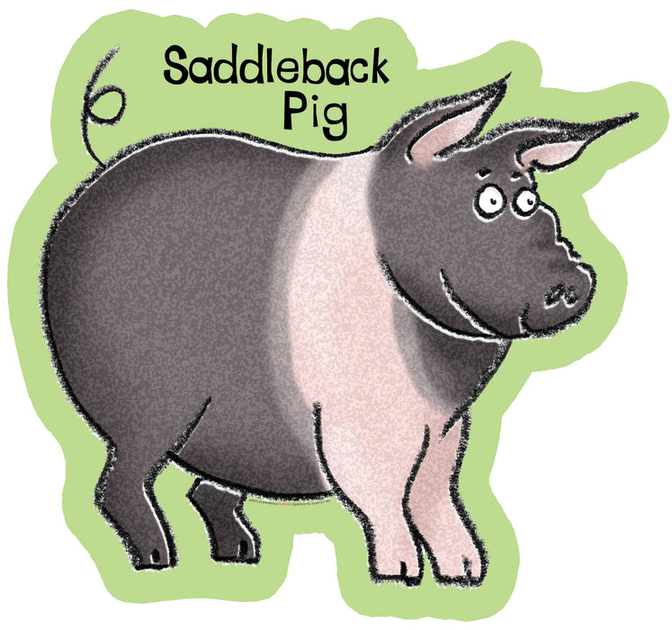 Farmyard Friends Saddleback Pig