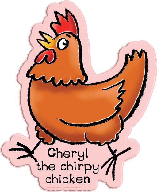 Cheryl the Chirpy Chicken