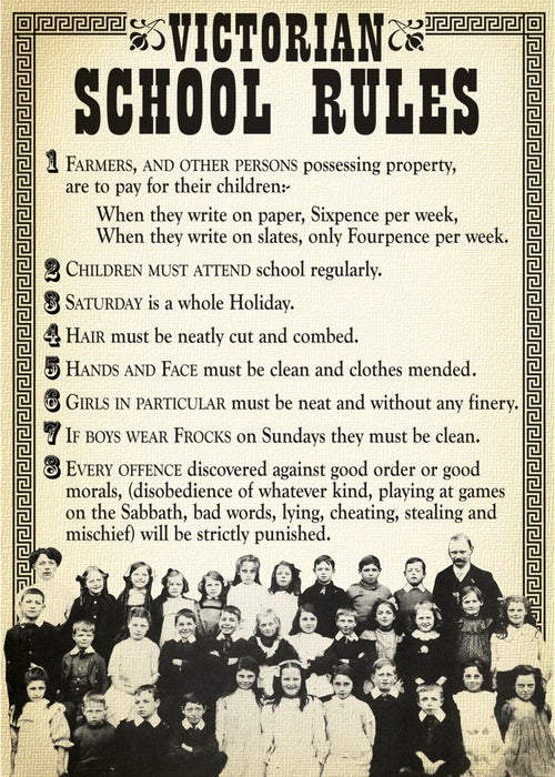 Victorian School Rules
