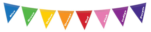 Colour Bunting Sign
