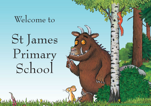 The Gruffalo Scene Welcome Sign