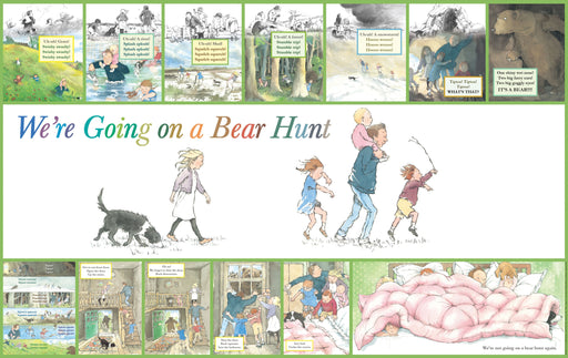 We're Going on a Bear Hunt Frieze 2