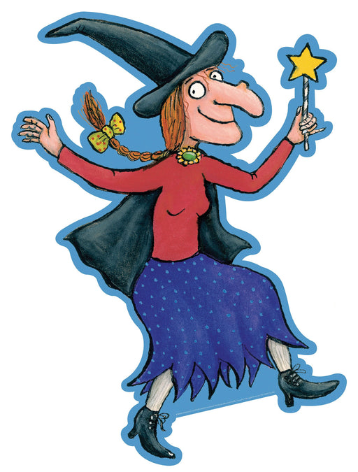Room on the Broom cut-out Witch