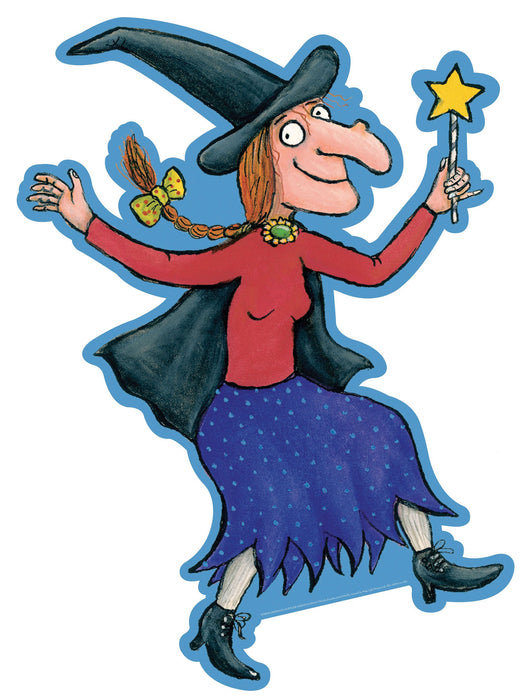 Room On The Broom Cut Out Witch
