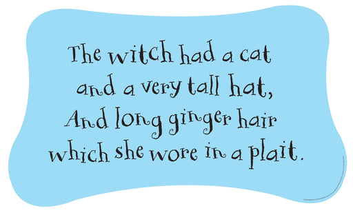 Quotes 'Witch had a cat...'