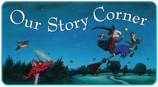 Room on the Broom Story Corner Sign