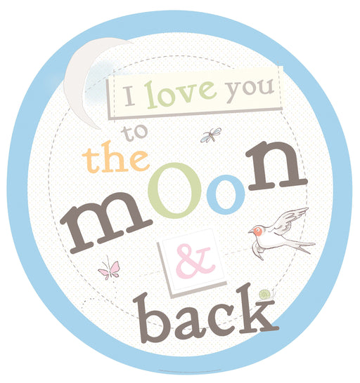 Guess How Much I love You Quote The Moon and Back