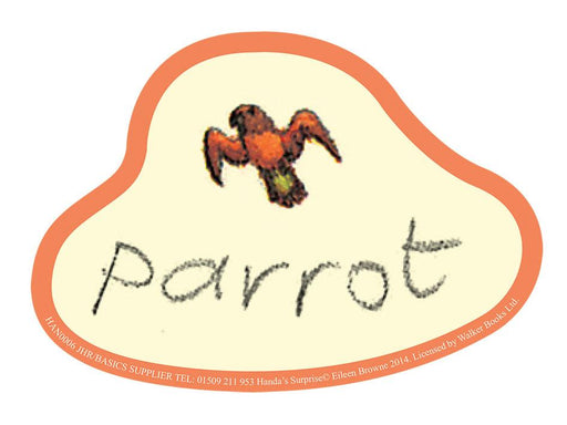 Handa's Surprise Parrot Cut-out Character