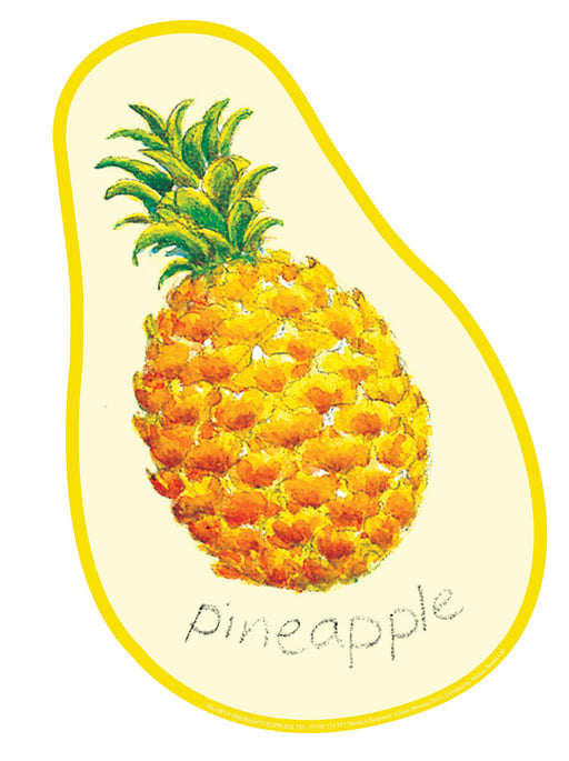 Handa's Surprise Pineapple Cut-out fruit