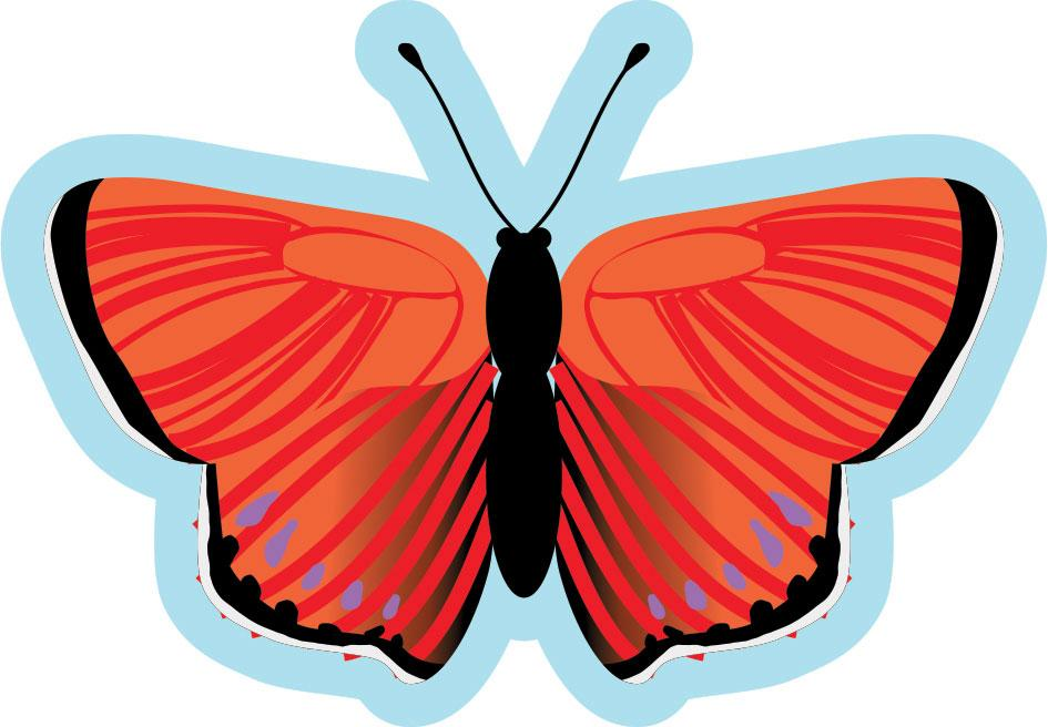 Butterfly Sign  Red