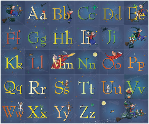 Room on the Broom Alphabet Grid
