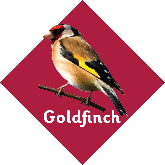 British Birds Signs Goldfinch
