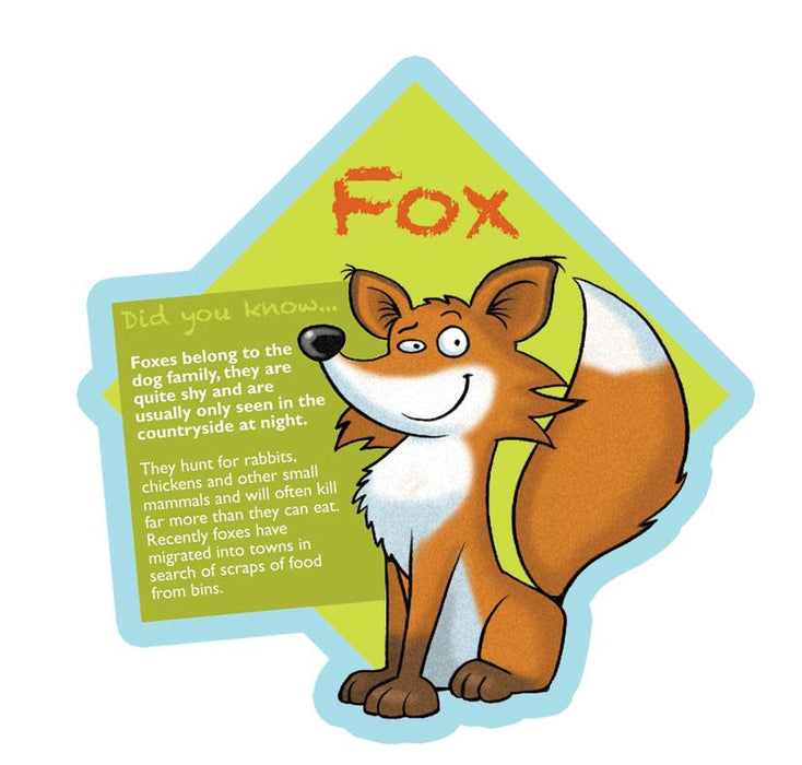 Did you know Woodland characters Fox