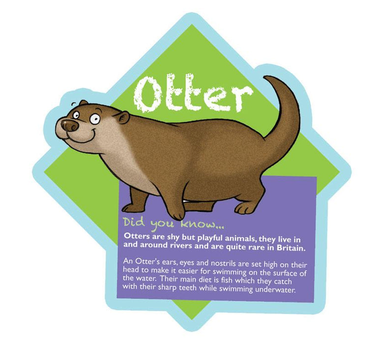 Did you know Woodland characters Otter