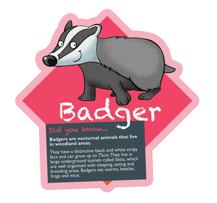 Did you know Woodland characters Badger