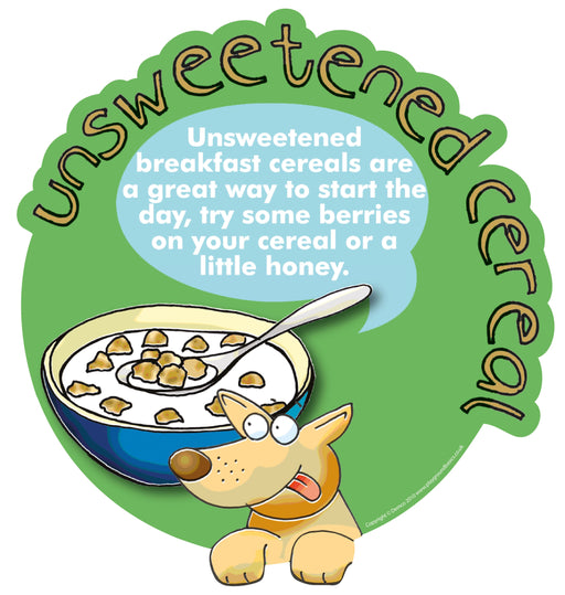 Smarty Food Signs Unsweetened Breakfast Cereal