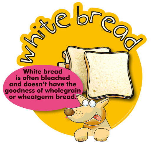 Smarty Food Signs White Bread