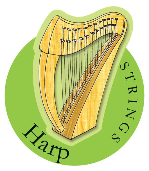 Musical Instruments Shop Signs Harp