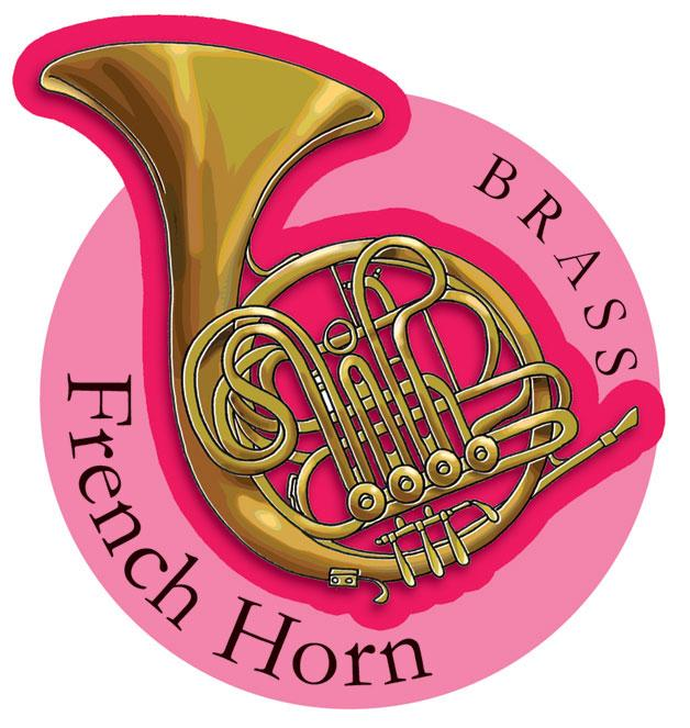 Musical Instruments Shop Signs French Horn