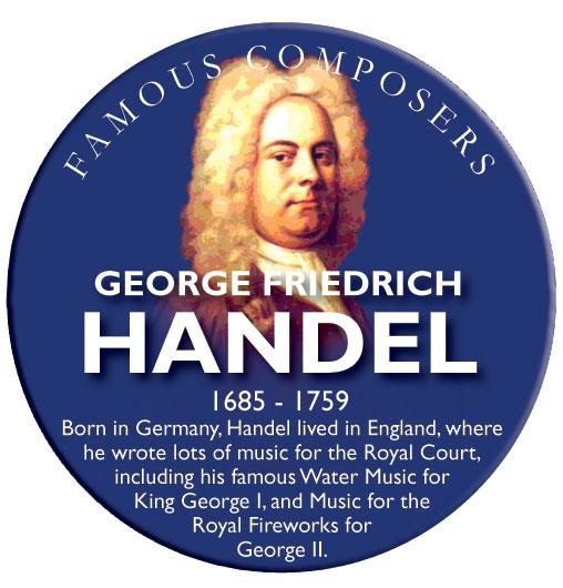 Musical Famous Faces Handel